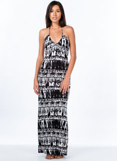 Tie-Die For Maxi Dress