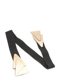 Double Layered Triangles Belt