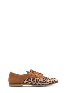 Reality Check Contrast Lace-Up Oxfords