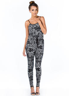 Print Bandit Drop Crotch Jumpsuit
