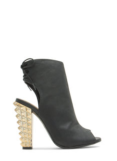 Rock This Way Studded Booties
