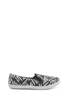 Geo-Tribal Magic Slip-On Sneakers