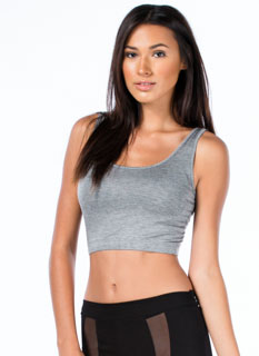 Sports Star Bralette Cropped Top