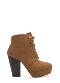 Lace-Up 2 The Challenge Booties
