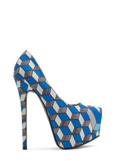 Three Dimensional Geo Platform Heels