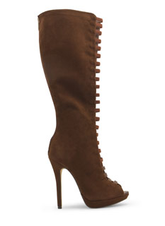Film Strip Cut-Out Boots