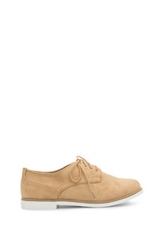 Tomboy Perfection Lace-Up Oxfords