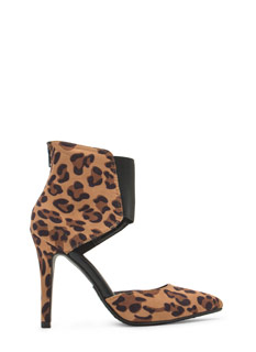 Bootie-licious Pointy Leopard Heels