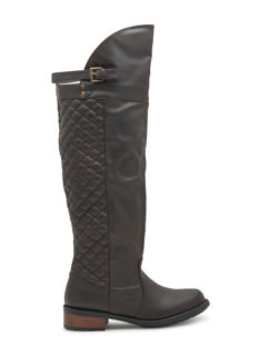 Quilty Pleasure Over-The-Knee Boots