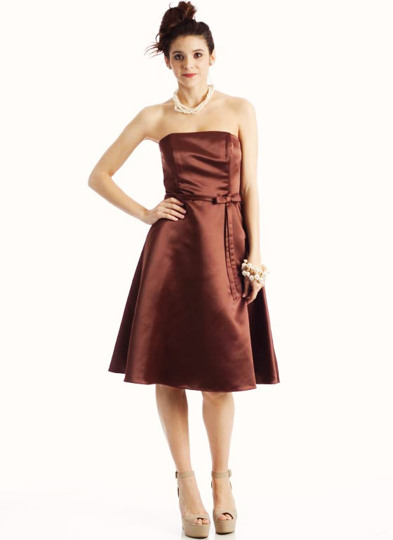 Classic A-Line Formal BROWN
