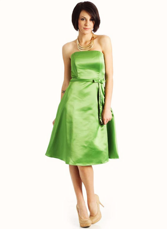 Classic A-Line Formal GREEN