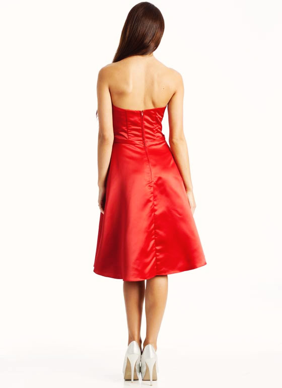 Classic A-Line Formal RED