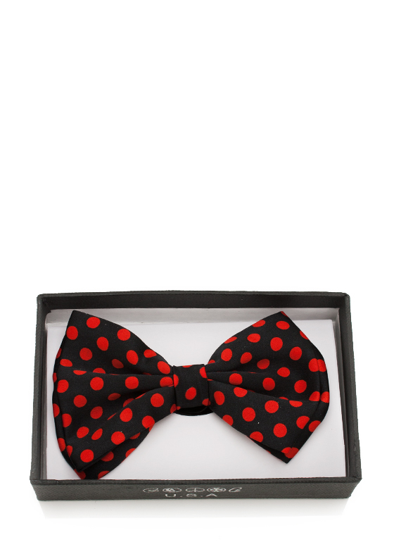 Fashion Bowtie BLACKRED