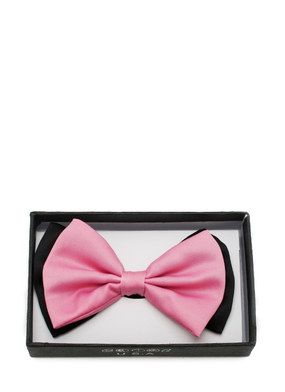 Fashion Bowtie PINKBLACK