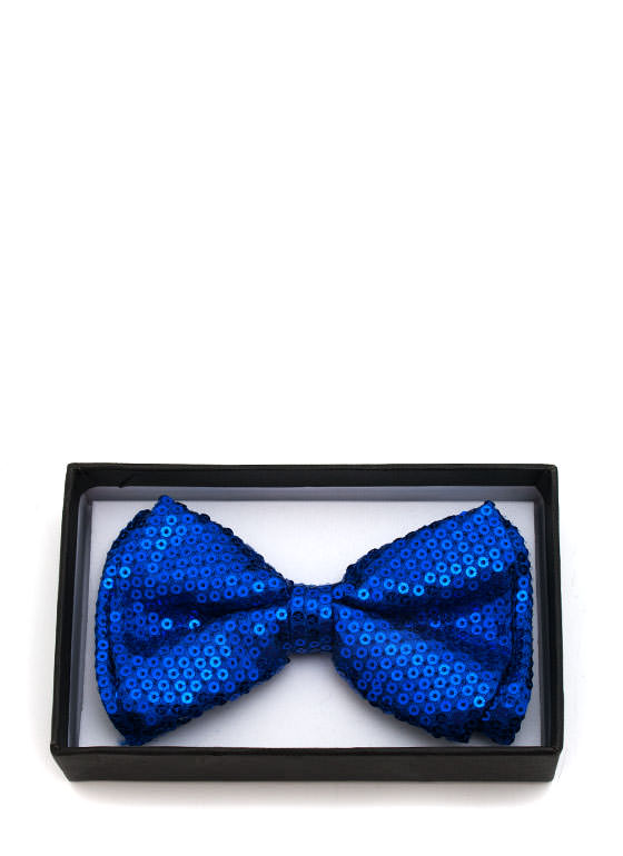 Sequined Bowtie ROYAL
