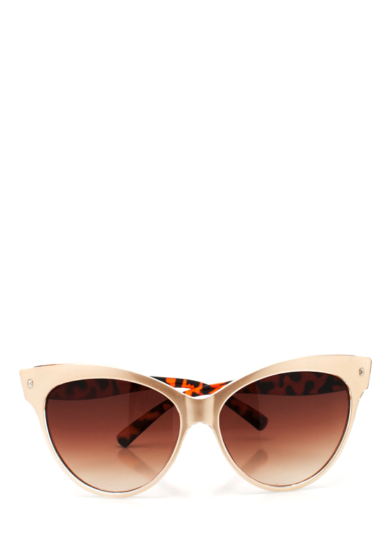 Cat Eye Sunglasses GOLDTORT