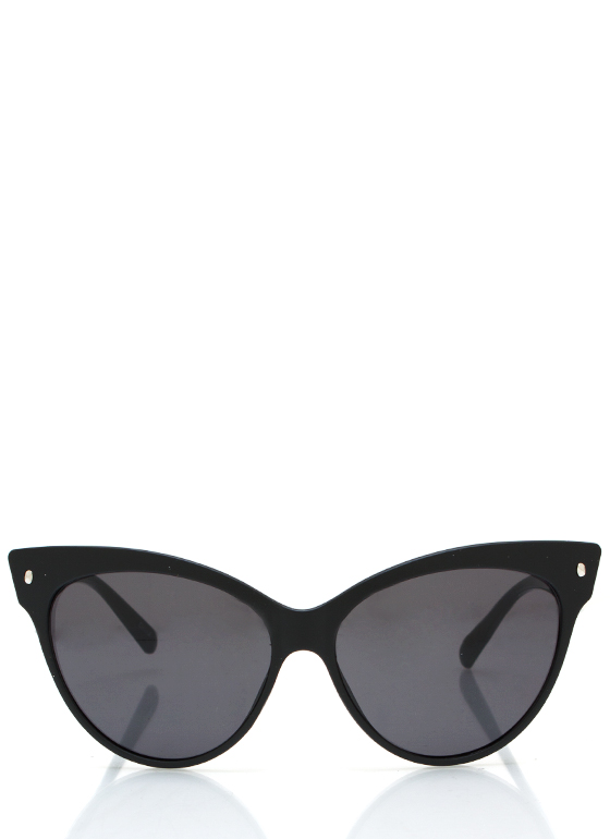 Cat Eye Sunglasses MATTEBLACK