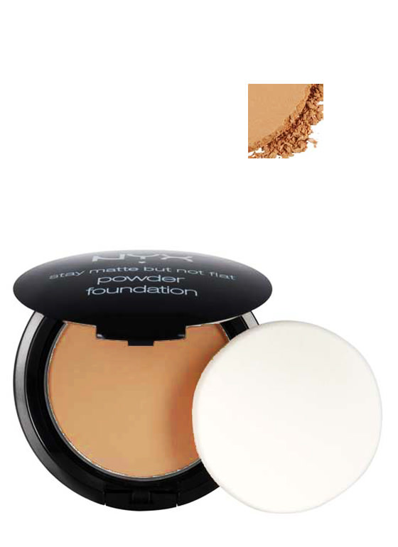 NYX Powder Foundation NUTMEG