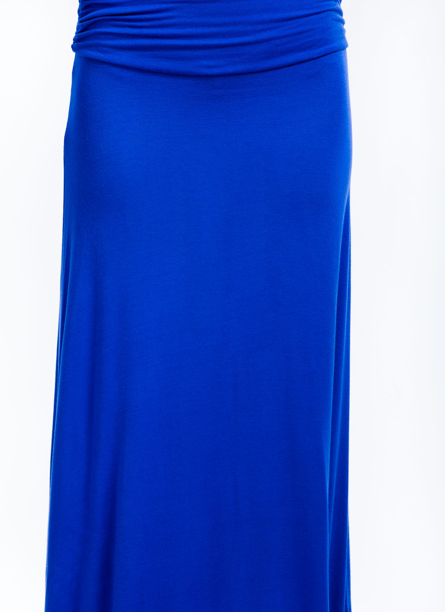 Folded Maxi Skirt ROYALBLUE