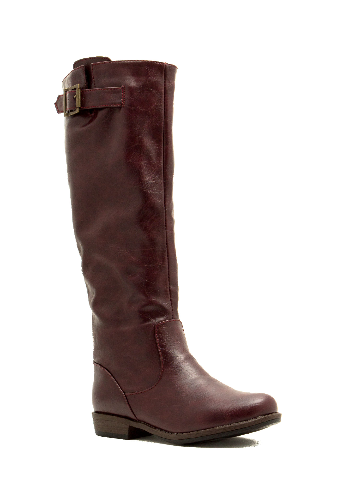 Leather Riding Boots OXBLOOD