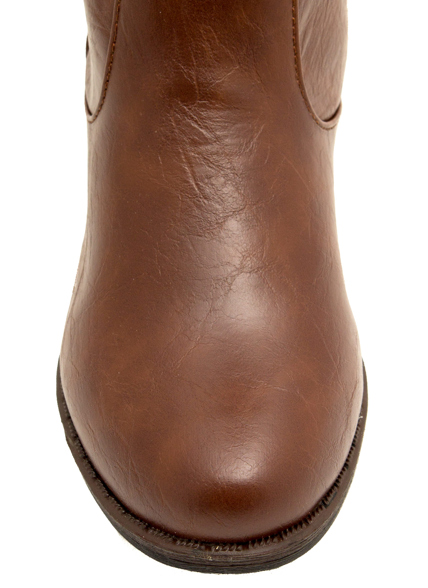 Leather Riding Boots WHISKEY