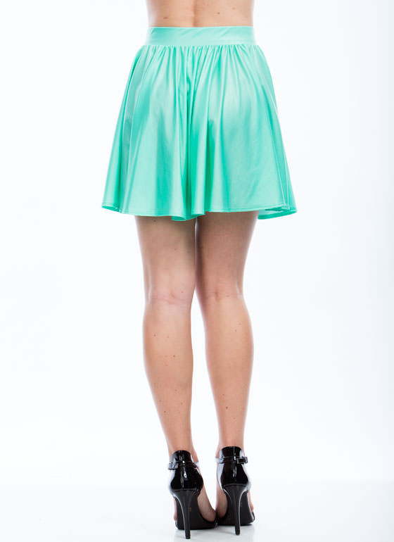 Slick Moves Skater Skirt MINT