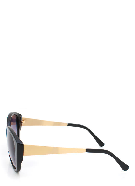 Cat Eye Sunglasses BLACKGOLD