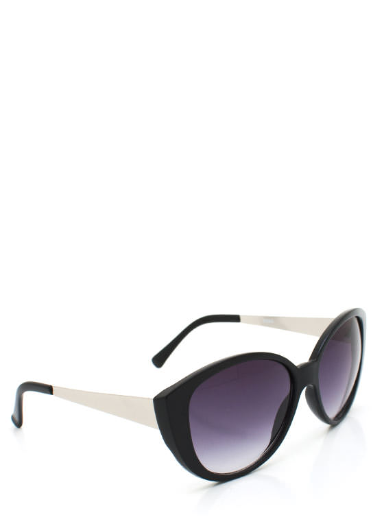 Cat Eye Sunglasses BLACKSLVR