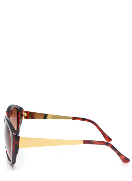 Cat Eye Sunglasses TORTGOLD