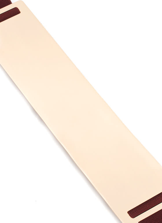 Metal Plate Belt WINEGOLD