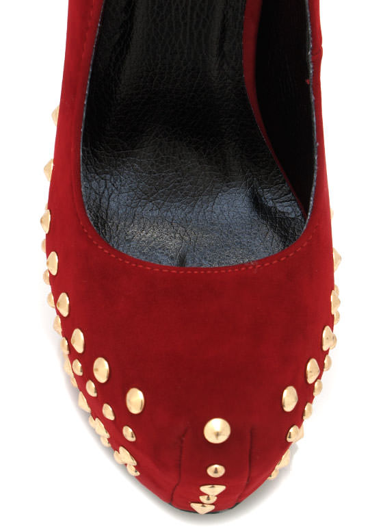 Studded Platforms RED