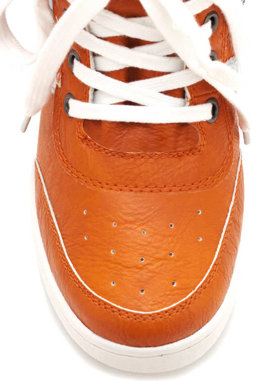 Wedge Sneakers ORANGE