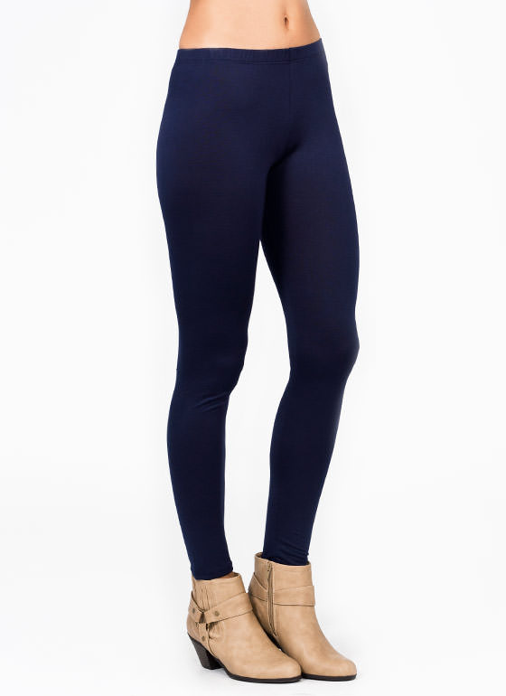 Basic Leggings NAVY
