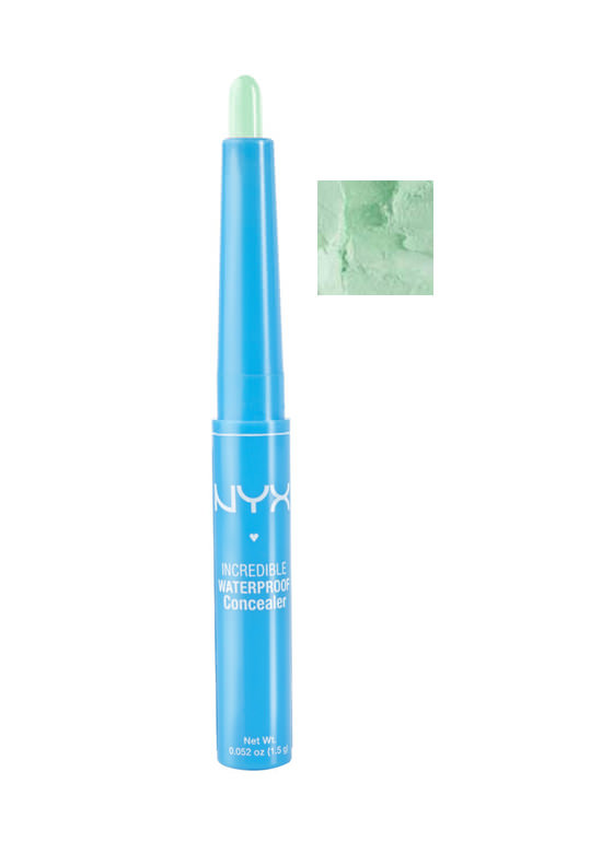 New Accessories: NYX Waterproof Concealer Stick GREEN
