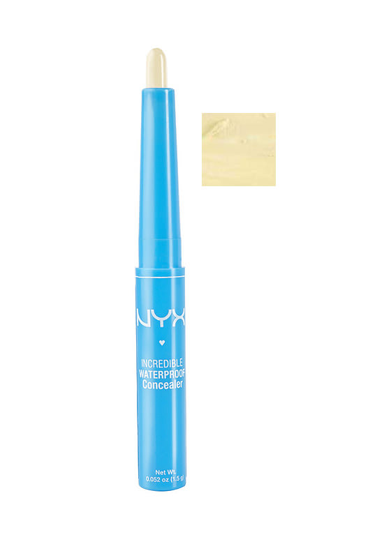 New Accessories: NYX Waterproof Concealer Stick YELLOW