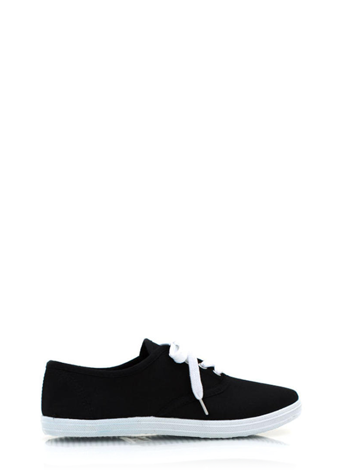 Canvas Sneakers BLACK