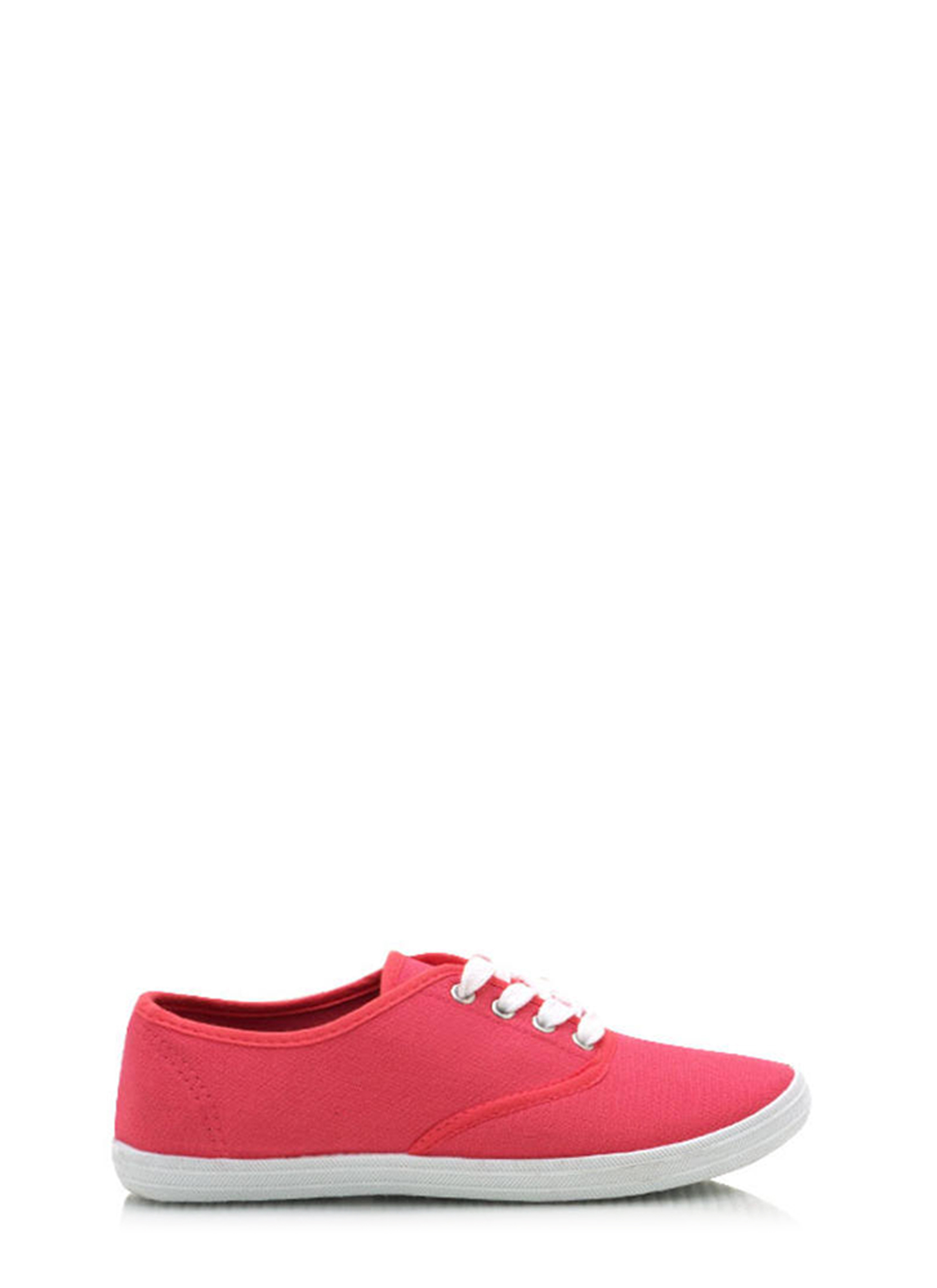 Canvas Sneakers BRGHTCORAL