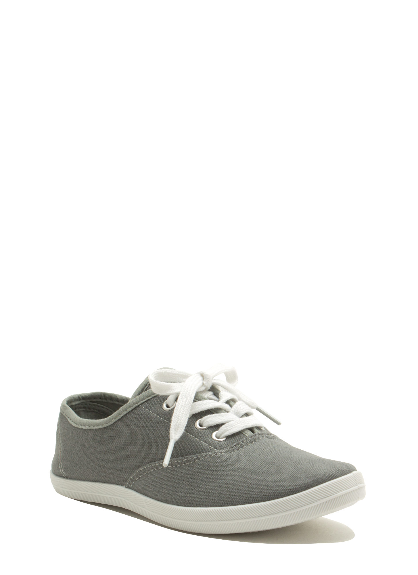 Canvas Sneakers GREY
