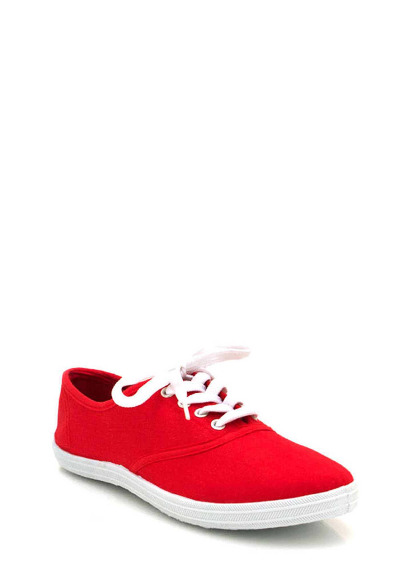 Canvas Sneakers RED