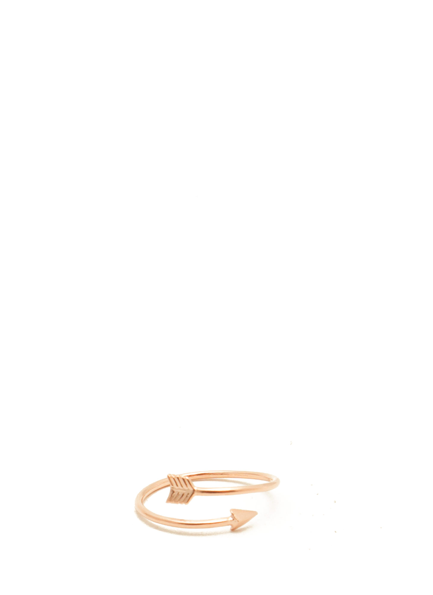 Arrow Midi Ring ROSEGOLD