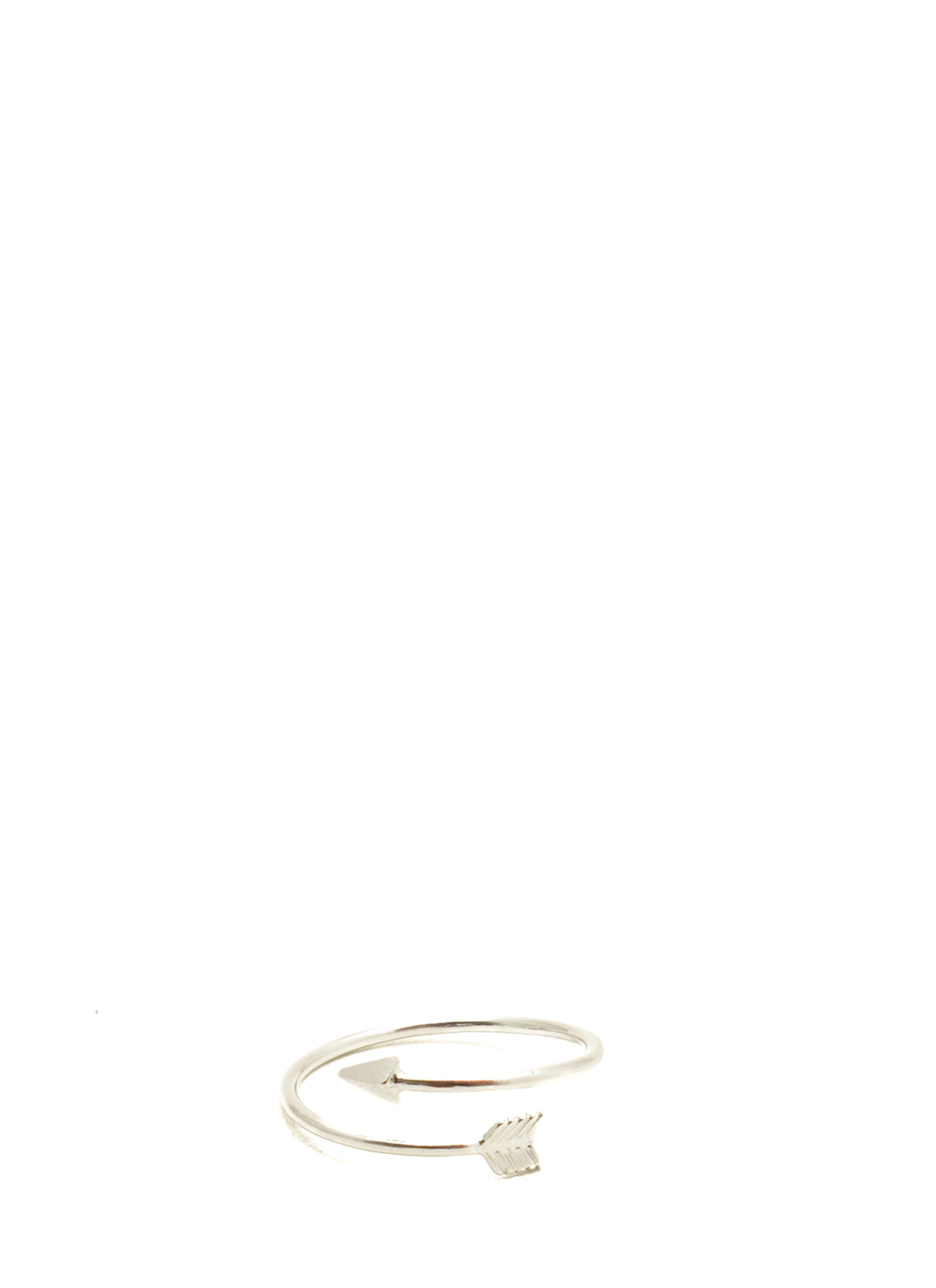 Arrow Midi Ring SILVER