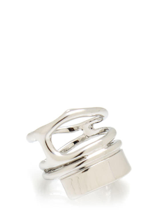 Cut Out Ring SILVER