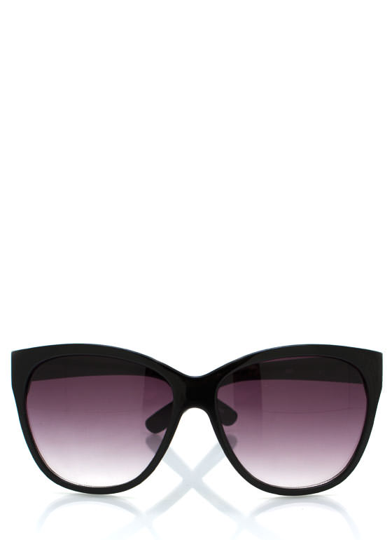 Cat Eye Sunglasses BLACKPURP