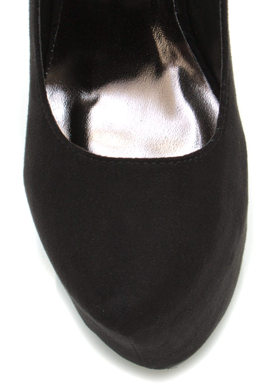 Mary Jane Platforms BLACK