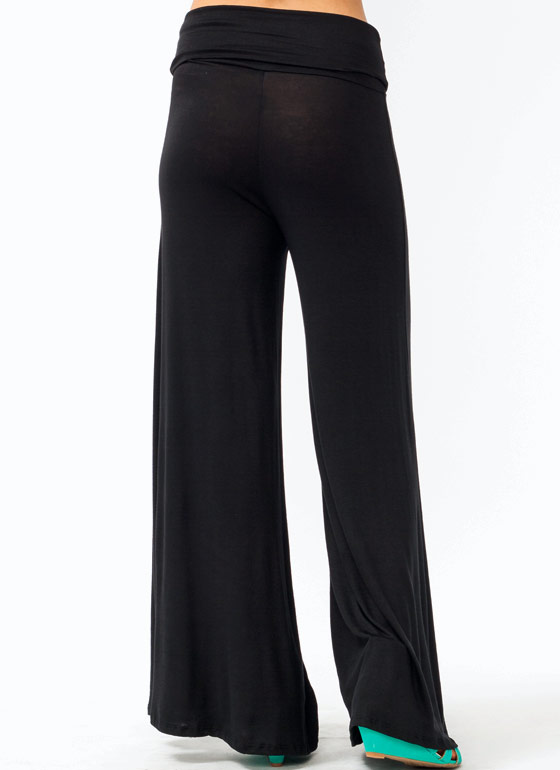 Wide Leg Pants BLACK