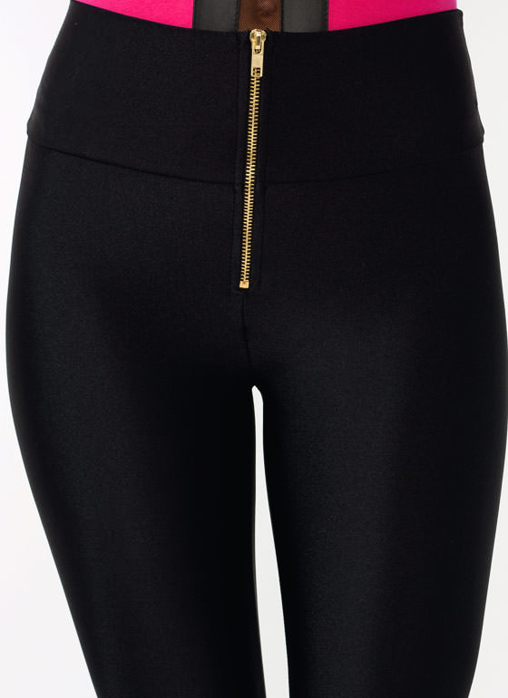 High Waisted Leggings BLACK