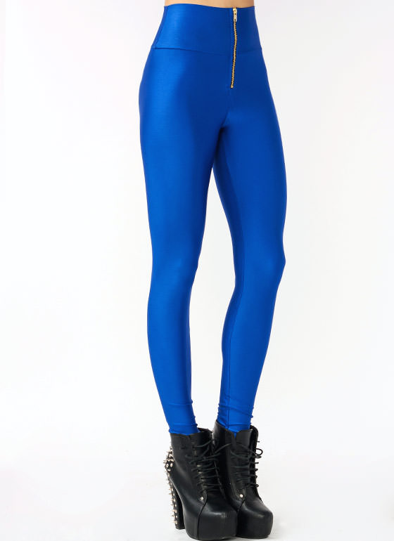 High Waisted Leggings ROYAL