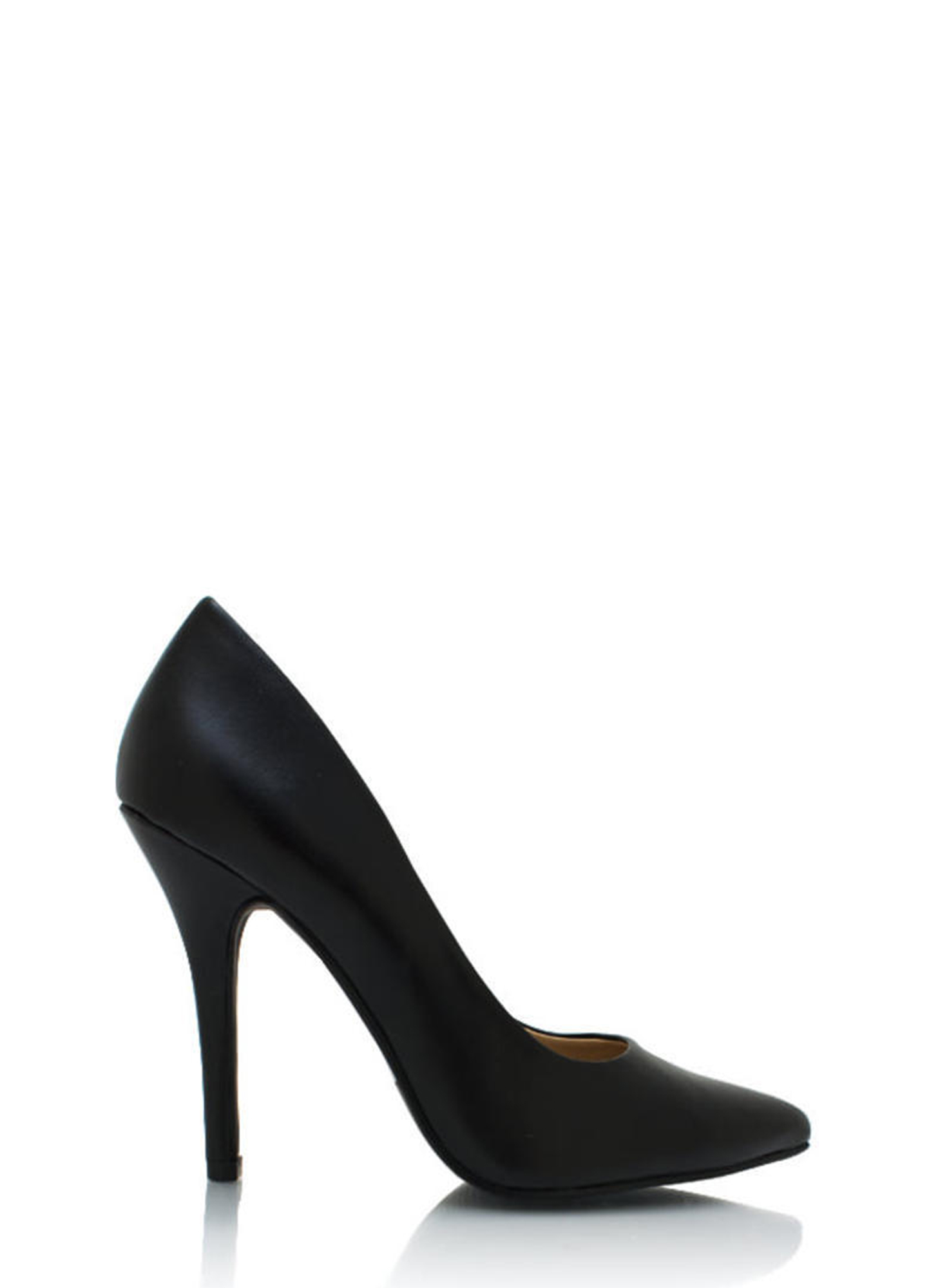 Pointy Toe Pumps BLACK