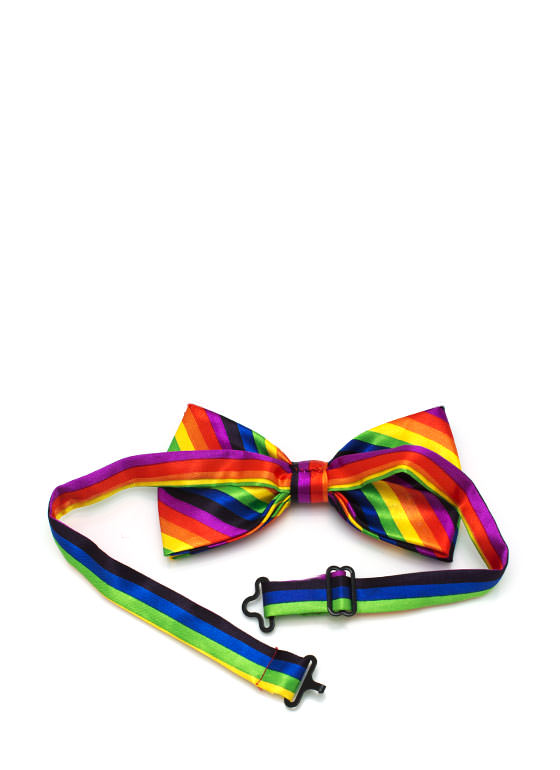 Rainbow Bow Tie MULTI