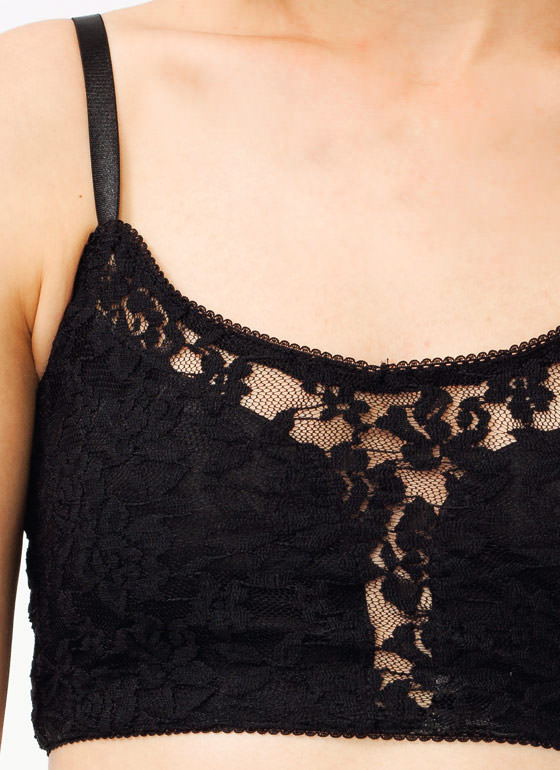 Lace Bralette BLACK